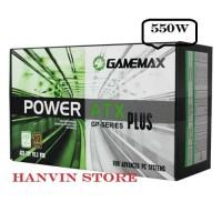 POWER SUPPLY GAMEMAX GP550 80 PLUS BRONZE - 550w True Power