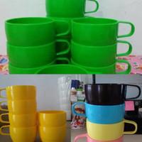 Best Quality cangkir plastik/tupperware/mug/gelas plastik unik