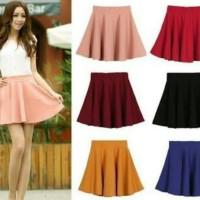 rok mini flare skirt