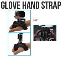 Action Cam 360 Glove Hand Strap for SJCAM / GoPro Series / Xiaomi Yi