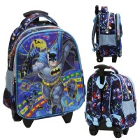 Tas Trolley TK Import - Batman 5D Timbul Hologram Dua Kantung