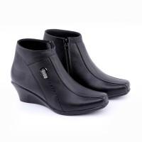 Kulit Asli - Pantofel Boots Wanita - Sepatu Formal Kerja Dan Pesta Grc