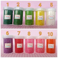 tree powder serbuk pohon bahan maket miniature pohon bahan clay craft