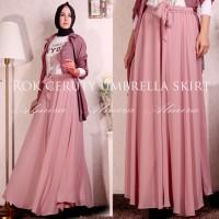 harga Rok / Panjang / Payung / Polos / Sifon / Chiffon / Umbrella Skirt Tokopedia.com