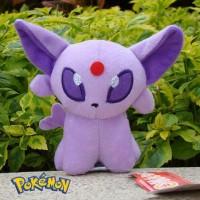 196 - Boneka Esepeon Boneka Eevee 30cm Boneka Pokemon