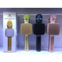Jual 01 -Mic YS-68 Mic Q9 Wireless Bluetooth Karaoke LED Microphone SpeakeR Murah