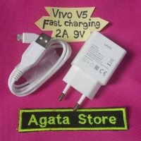 Charger Vivo V5 Original 2A 9V Fast Charging / Carger Vivo X7 ,Y53 Ori