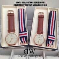 JAM TANGAN DANIEL WELLINGTON COUPLE SUPER EDISI VALENTINE - LIMITED