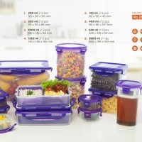 toples/food container/smart sever/kado pernikahan/isi doorprize