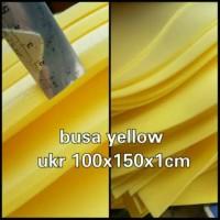 busa untuk kasur / busa yellow super merk royal ukuran 150x100x1cm