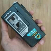 Walkman Aiwa TP-M105 Micro Cassette Recorder Record Rekaman Kaset Pita