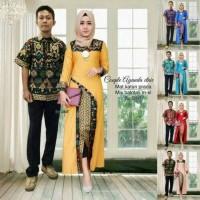 Jual batik couple ayunda etnic, kebaya sarimbit longcardi ayunda etnic Murah