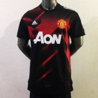 Jersey Manchester United Training Prematch 17/18 Grade Ori