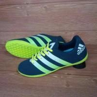 Sepatu Futsal Adidas ACE 16 Kids / Anak-anak Hitam list Stabilo