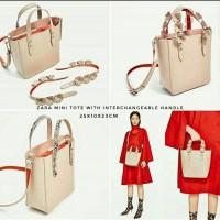 Tas Zara Mini Tote with Interchangeable Handle ORI