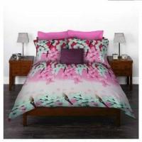 Bed Cover King Rabbit - Sakura Blossom Pink - Single 140