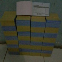 Nota counter mini 1/8 Folio 2ply kertas ncr / kecil