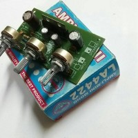 harga Kit Rakitan Power Amplifier Mini La4422 Mono Tokopedia.com
