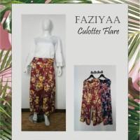 Jual culottes, FAZIYAA, culottes flare Murah