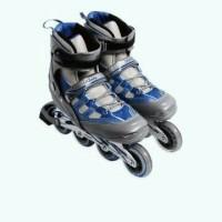 Sepatu Roda LA Sport Abu-abu/Biru