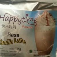 Jual Bubuk minuman / powder drink rasa vanilla latte Murah