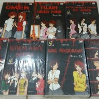 Novel Paket Omen Series (1-7 Tamat) - Lexie Xu