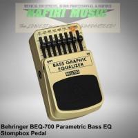 Efek Bass Behringer BEQ-700 / Behringer BEQ700 parametric equaliser