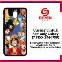 Casing Samsung J7 Pro SM J730 one piece 1 7 Custom Hard Case Cover