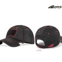 NOTCH CLASSIC ADJUSTABLE HAT ATHLETE BLACK/RED OPERATOR