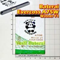 harga Baterai Evercoss A75w Winner Y1 , Rakkipanda Tokopedia.com