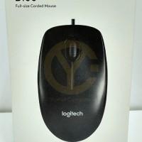 Jual Mouse Kabel Logitech B100 / Optical USB Mouse Murah