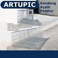 Kandang Ayam Petelur Galvanis Kawat Layer Artupic