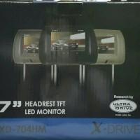 headrest monitor mobil livina vios yaris ertiga