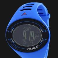 Jam Tangan Pria Wanita Adidas ADP3511 Adizero Digital Blue Rubber stra