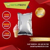 Bubuk Soft Ice Cream - Rasa Strawberry