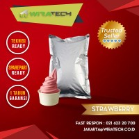Bubuk Yoghurt - Rasa Strawberry