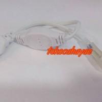 Jual Socket Colokan Jack Lampu Strip Selang LED SMD 5050 220 volt Kotak Murah