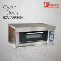 Mesin Oven Roti Gas 1 Deck 2 Loyang | Gas Oven Deck Fomac BOV-ARF20H