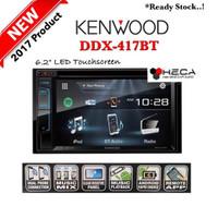 harga Kenwood Ddx-417bt Head Unit Ddx 417 Bt Tape Mobil Double Din Audio Tokopedia.com
