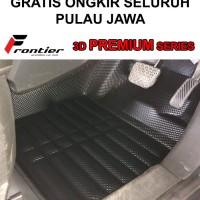 Karpet Mobil 3D PREMIUM BLACK Frontier Daihatsu GREAT XENIA 2016-UP