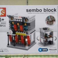 Sale Sembo block Mini world Great dreams Sembo block HSBC The world