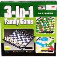 0960380004 | MAINAN ANAK FAMILY GAME 3 IN 1 CATUR HALMA ULAR TANGGA