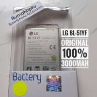 Baterai batre battery LG G4 / G4 stylus BL-51YF original 100%