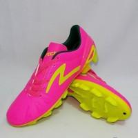 Ready Sepatu Specs Bola Tomahawk Fg - Pink Zest Green Black