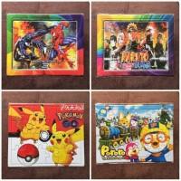 Jigsaw Puzzle Mainan Edukatif Gambar Untuk Anak Game Edukasi Murah