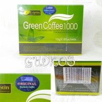 Jual LEPTIN COFFEE 1000 | LEPTIN GREEN COFFEE [Kopi Organic Diet] Murah