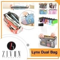 Jual Lynx Dual Bag in Bag Organizer Tas Dalam Korea Dual Bag Serbaguna  Murah