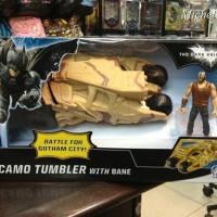 Batman Camo Tumbler Car With Bane Figure - Mobil Batman