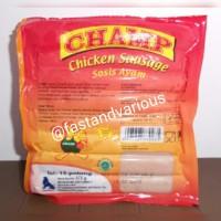 Sosis Ayam Champ 375gr/Frozen Food/Makanan Beku