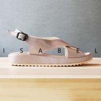 Jual Sandal Wanita Madison Platform Sandal - Rose Gold / Merah Emas 006  Murah